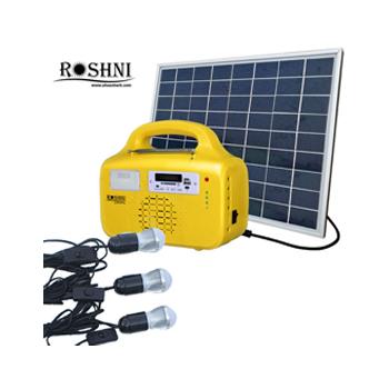 DC Solar Home Lighting Systems Kits